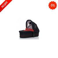 АВС Люлька для коляски  quotZOOM Cherry-black черный с красным