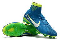 Футбольные бутсы Nike Mercurial Superfly V SX Neymar FG Blue Orbit/White/Armory Navy