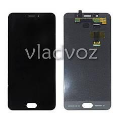 Дисплей модуль екран з сенсором для заміни на MX6 LCD чорний