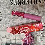 Стойкая сатиновая помада Lime Crime 'Pink champagne', фото 2