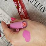 Стойкая сатиновая помада Lime Crime 'Pink champagne', фото 3