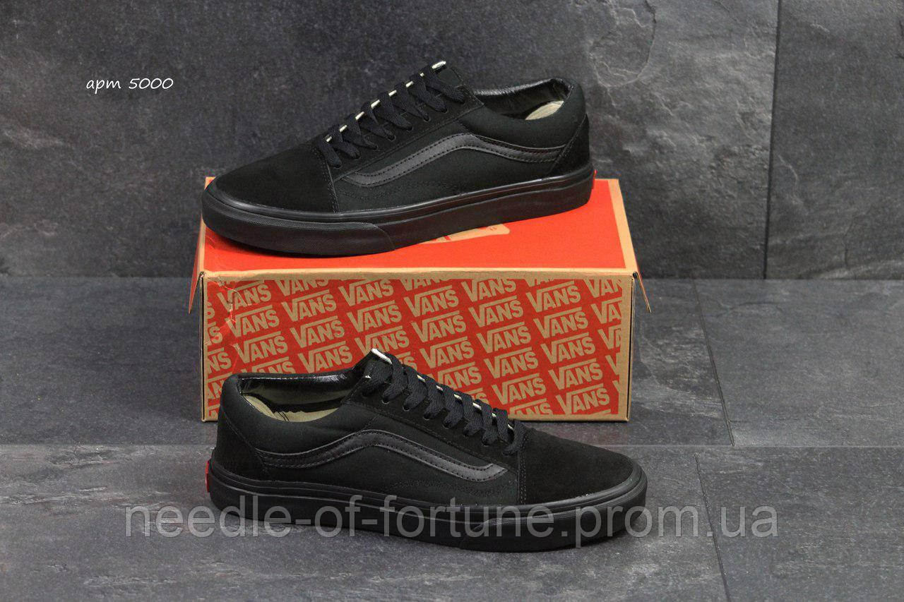 6a0aa4ed57c5 С 41р по 45р осенние весенние (демисезонные) мужские кроссовки Vans Old  School черные