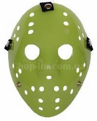 Маска Джейсона (Пятница 13-е, Jason Voorhees) зеленого цвета