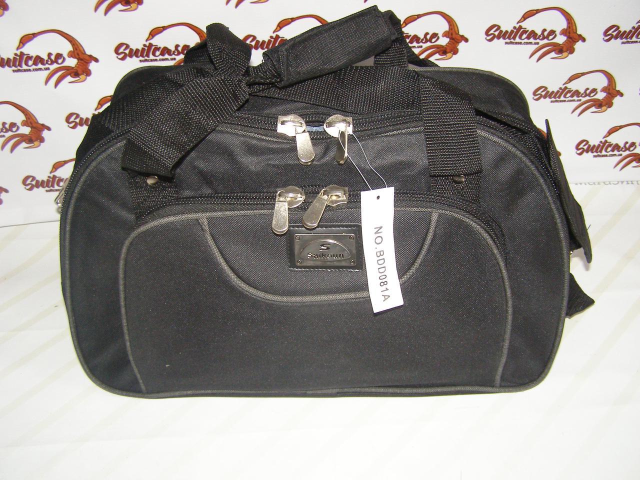 a0eaa5eaddae Сумка овал (Маленькая) Sainkon - черная с серым - Интернет-магазин «Валіза