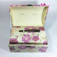 Подарочная коробка сундук с ручкой и застежкой - 3 шт.
