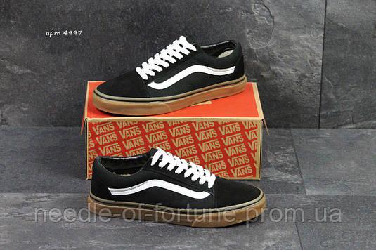 3740f6836735 С 41р по 45р осенние весенние (демисезонные) мужские кроссовки Vans Old  School черно