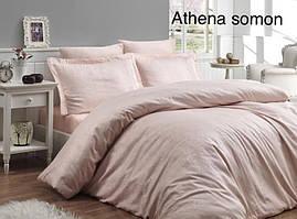"Постельное белье First Choice(евро-размер) сатин-жаккард""Athena Somon"""