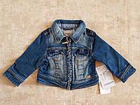 Модная джинсовая курточка для девочки 68см 6мес Mayoral (Испания)