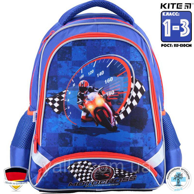 Рюкзак школьный Kite Motocross K18-517S. Для классов (1-3)