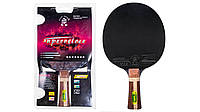 Ракетка для настольного тенниса Superveloce 7звезд , Giant Dragon, фото 1