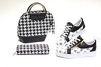 Набор:сумка, обувь, кошелек