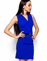 Женское деловое платье без рукавов(Венесуэлаkr)