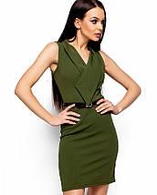 Женское деловое платье без рукавов(Венесуэлаkr), фото 2
