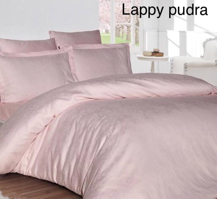 """Постельное белье First Choice (евро-размер) сатин-жаккард """"Lappy Pudra"""""""