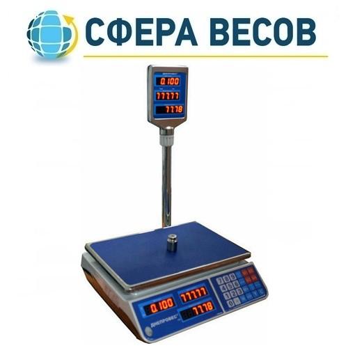 Весы торговые Днепровес F902H-6EL (6 кг)