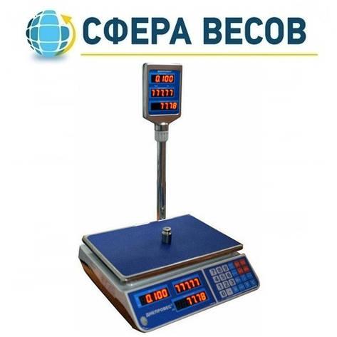 Весы торговые Днепровес F902H-6EL (6 кг), фото 2