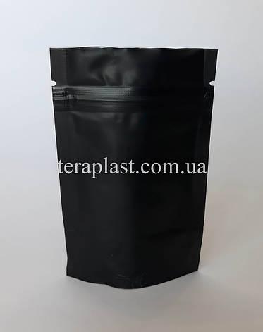 Дой-Пак 15г черный 70х110 с зип замком, фото 2