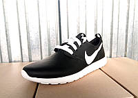 Кроссовки кожа Nike Roshe Run мужские 40 -45 р-р, фото 1