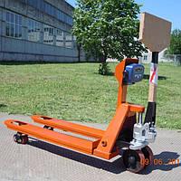 Гидравлическая тележка с весами Axis 4BDU2000P-В-Б Бюджет