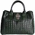 Кожаная женская сумка Лаура, фото 2