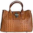 Кожаная женская сумка Лаура, фото 5