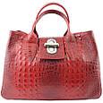 Кожаная женская сумка Лаура, фото 4