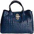 Кожаная женская сумка Лаура, фото 7