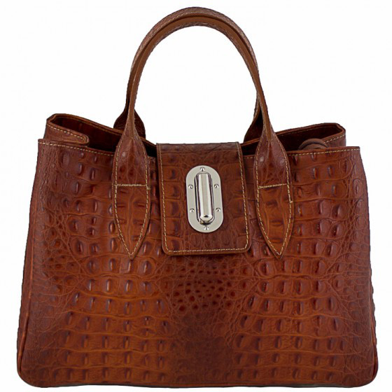 Кожаная женская сумка Лаура