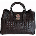 Кожаная женская сумка Лаура, фото 8