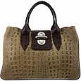 Кожаная женская сумка Лаура, фото 3