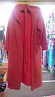 Женский махровый халат 42-52р цвета в ассортименте (СКЛАД-1шт розовый р52 . 1шт голубой р М), фото 1