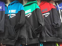 Спортивный костюм на флисе мальчики девочки 8-12лет зимний NIKE Adidas  Oliwer 0d3fead055aba
