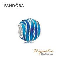 Pandora Шарм МАГИЯ ВОДЫ #797012ENMX серебро 925 Пандора оригинал