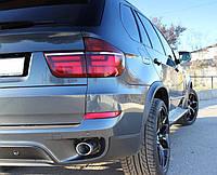 Расширители арок фендеры BMW X5 E70 (пластик)