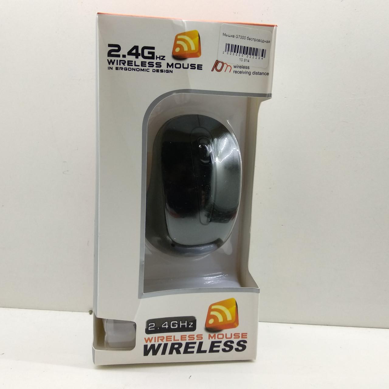 Мышь беспроводная Wireless G109 2.4GHz black