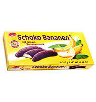 Конфеты шоколадные Schoko Bananen (с банановой начинкой) Австрия 300г