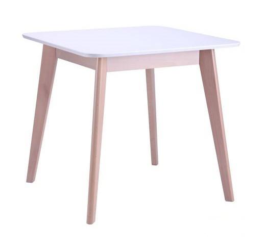 Стіл кухонний обідній з дерева Модерн 800*800 Меблі-Захід