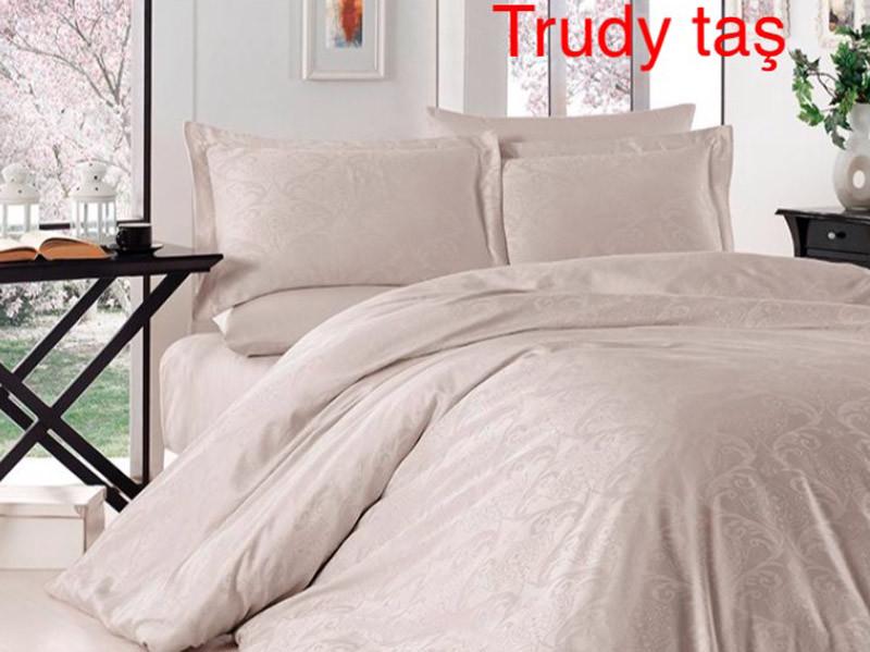 """Постельное белье First Choice (евро-размер) сатин-жаккард """"Trudy Tas"""""""