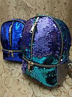 (до185грн-220грн)Рюкзаки искусств кожа с паетками И блестками Новый стиль(только ОПТ)