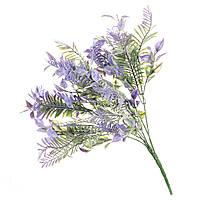Искуственный цветок ветка с напылением 37 см 051FW