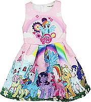 Яркое детское платье My little Pony, фото 1
