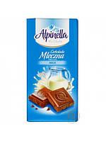 Шоколад молочный Alpinella Mleczna,100г