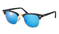 Солнцезащитные очки Ray-Ban Clubmaster Черно-синий (RB3016 1145/17)