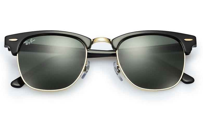 Солнцезащитные очки Ray-Ban Clubmaster Черный (RB3016 w0365) - OOO Хаббер в  Киеве d32e6ba9788