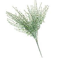 Искуственный цветок ветка с напылением 40 см 050FW-2