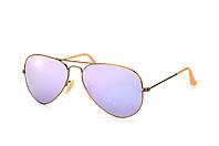 Солнцезащитные очки Ray-Ban Aviator Flash Lenses Сиреневый (RB3025 167/4K)