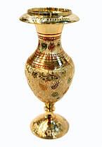 Интерьерная ваза из латуни