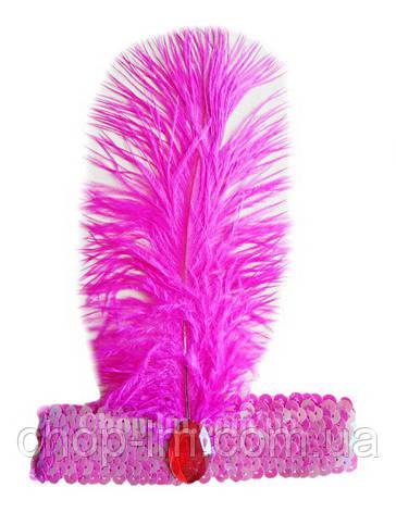 """Повязка для волос карнавальная """"Восточная"""" (розовая), фото 2"""