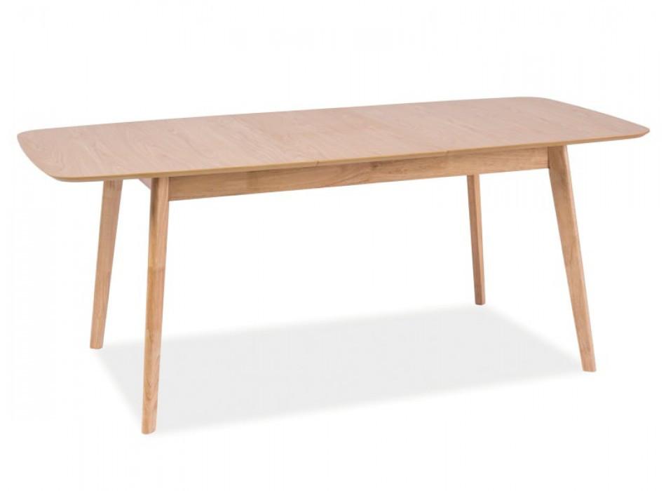 Стіл кухонний обідній з дерева Модерн 1500(1900)*900 Меблі-Захід