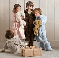 Детские халаты с капюшоном – веселое решение для комфорта